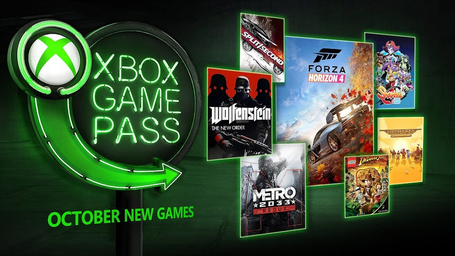 xbox game pass october 2018 wolfenstein