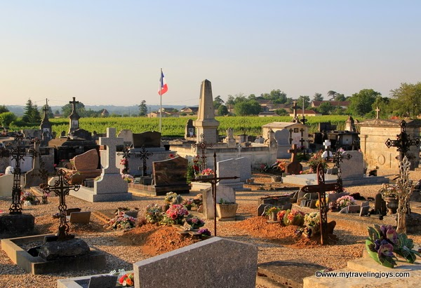 Pretty Puisseguin And Its Cemetery My Traveling Joys