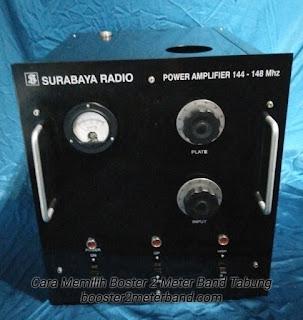 Sertifikasi Produk Booster 2 Meter Band Tabung VHF