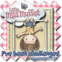 Winner at Little Miss Muffet Challenge