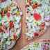 "Thin Crust-No Cheese  ""Leftover Chapati"" Pizza"""