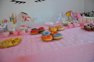mesa dulce fiesta unicornio