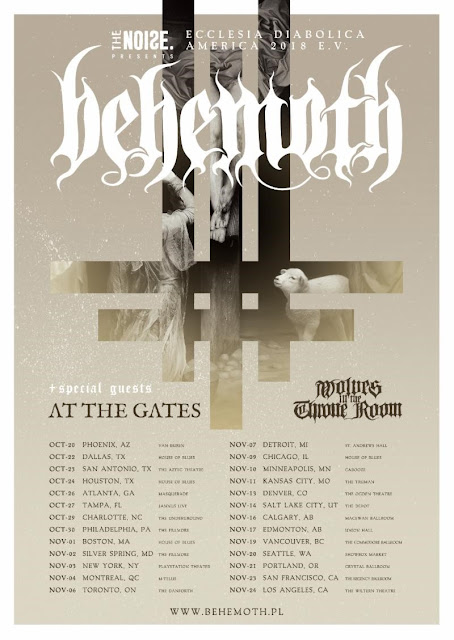 BEHEMOTH To Kick Off North American Tour