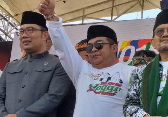 Kampanyekan Jokowi di Harlah NU, Ridwan Kamil Dilaporkan ke Bawaslu