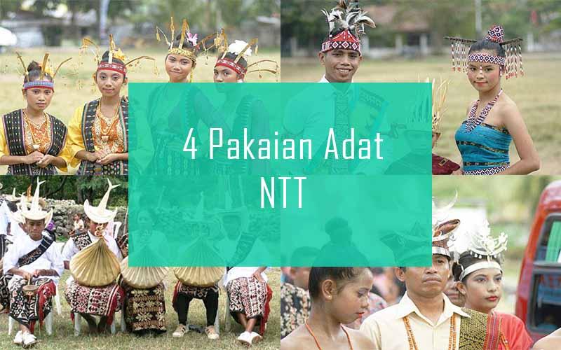 Inilah 4 Pakaian Adat Dari Nusa Tenggara Timur (NTT)