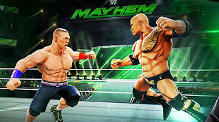 لعبة WWE Mayhem مهكرة كاملة للاندرويد