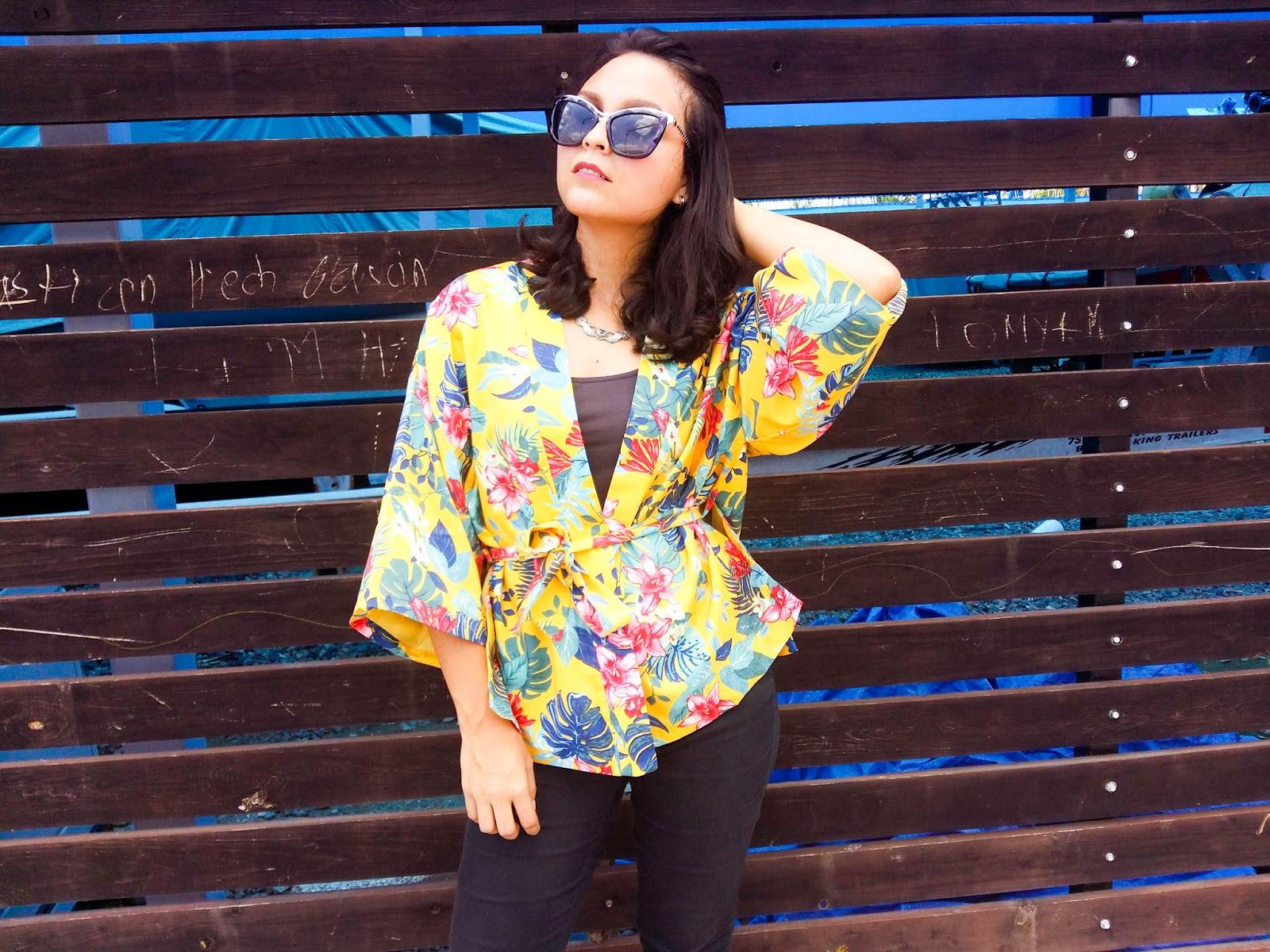 Zaful Kimono review