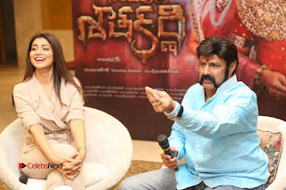 Shriya Saran Nandamuri Balakrishna at Gautamiputra Satakarni Team Press Meet Stills  0188.JPG