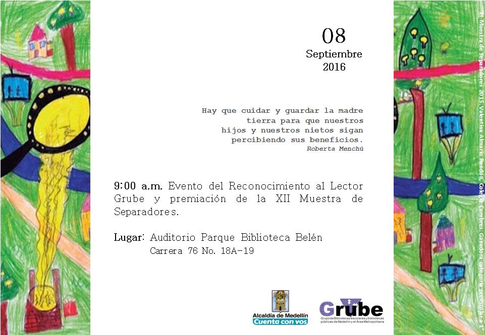 Grupo De Bibliotecas Escolares De Medellín Y El área