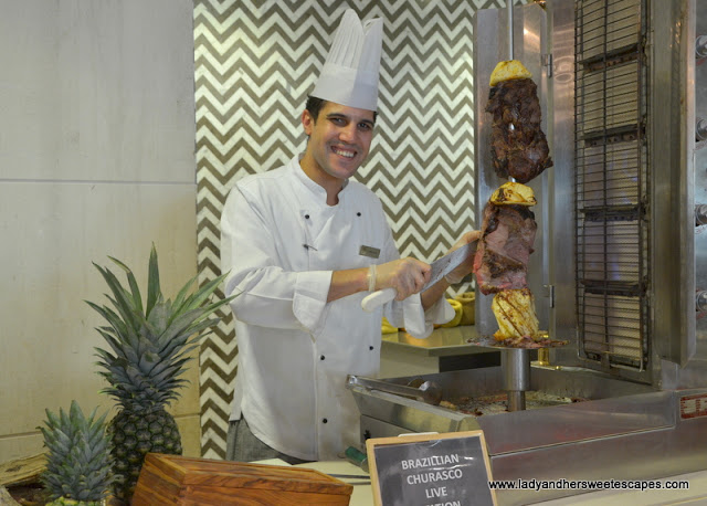 Churasco at Fairmont Ajman brunch