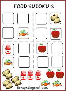 Food Sudoku