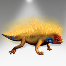 Fire Lizard - Pirate101 Hybrid Pet Guide