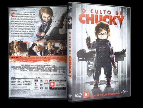 Capa DVD O Culto de Chucky
