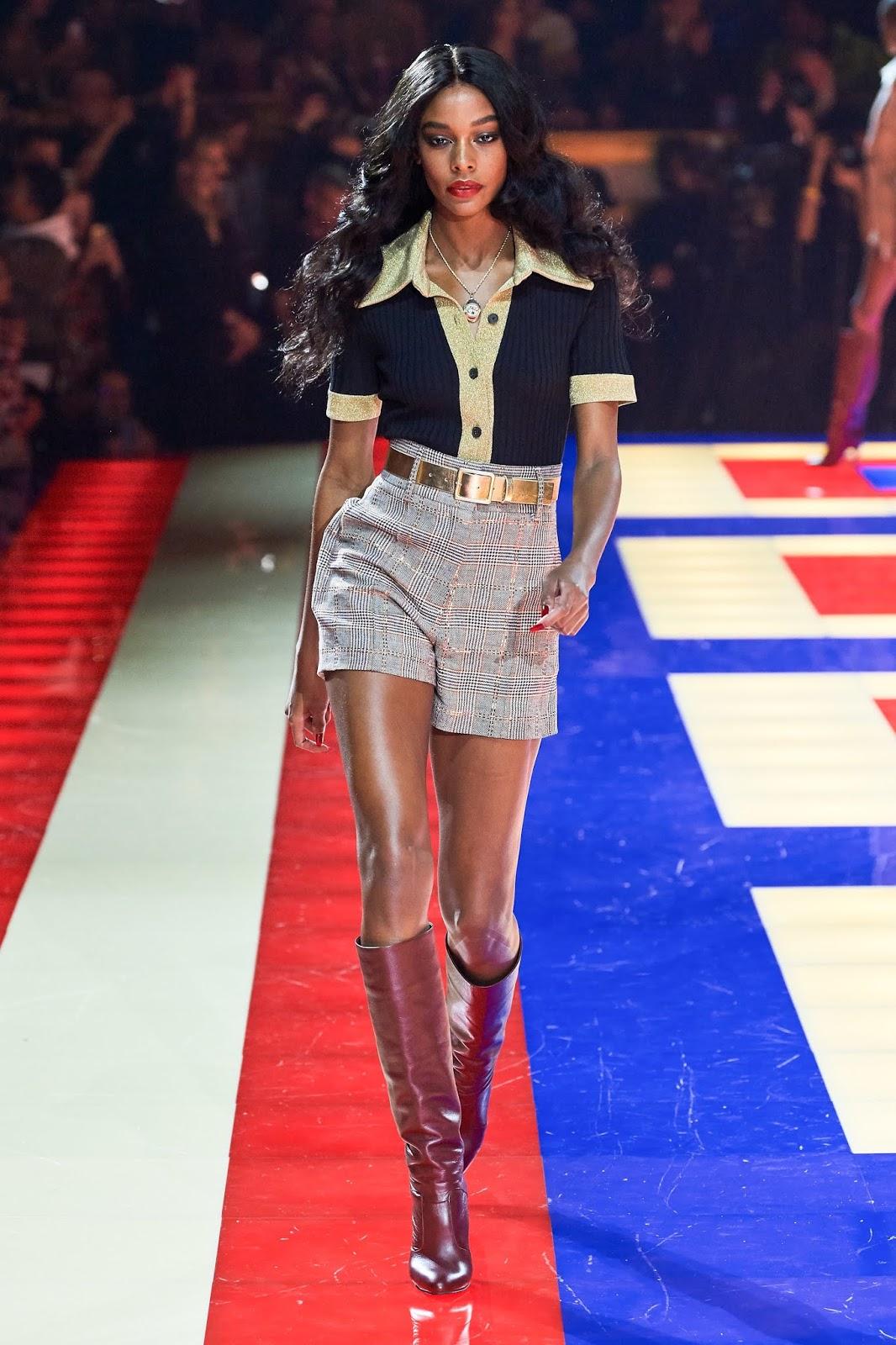 Tommy X Zendaya Paris Fashion Week Show