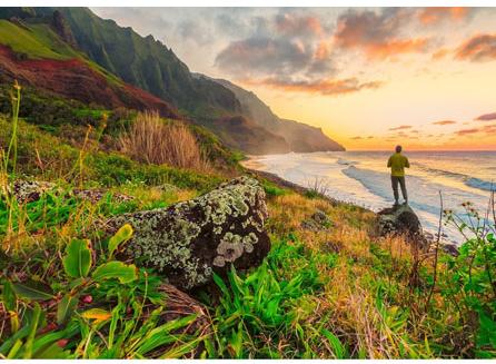 the scenic Hawaiian