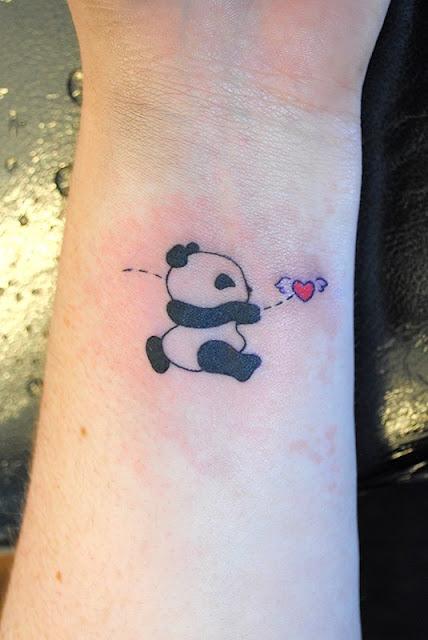 Tatuagem de Panda