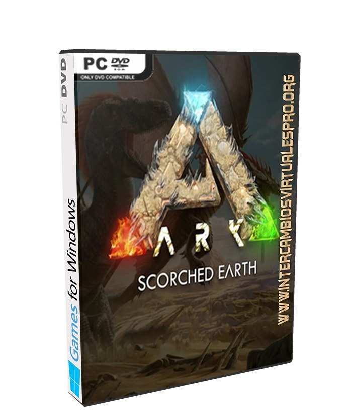 ARK Survival Evolved v246.8 Incl 3DLC poster box cover