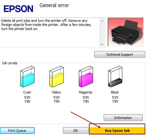 Cara Memperbaiki Printer Epson L Series Minta SN ID Tinta Dengan WIC Resetter