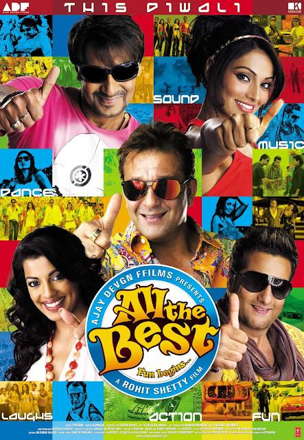 All the Best 2009 Hindi Movie Free Download 480p BRRip 400MB
