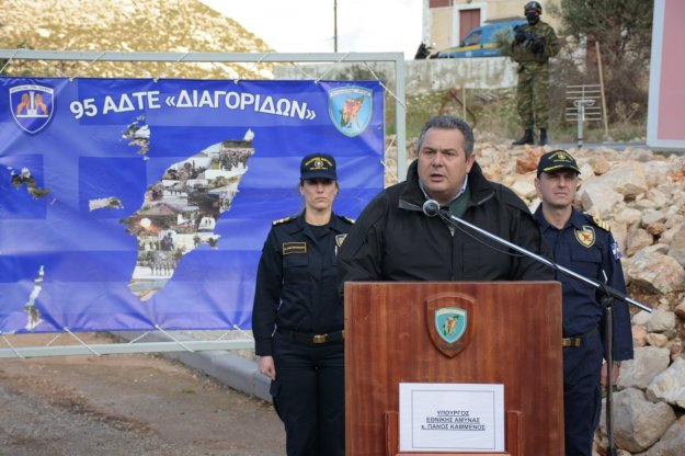 Π. Καμμένος: Προανήγγειλε κήρυξη ΑΟΖ στο Ανατολικό Αιγαίο τους επόμενους μήνες