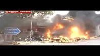 Chennai Triplicane IceHouse JamBazzar Police Station Burnt Live Video
