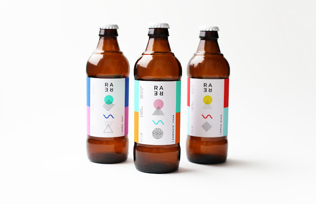 Rare Barrel - A Sour Beer Co. using abstract artistic design by Mackenzie Freemire