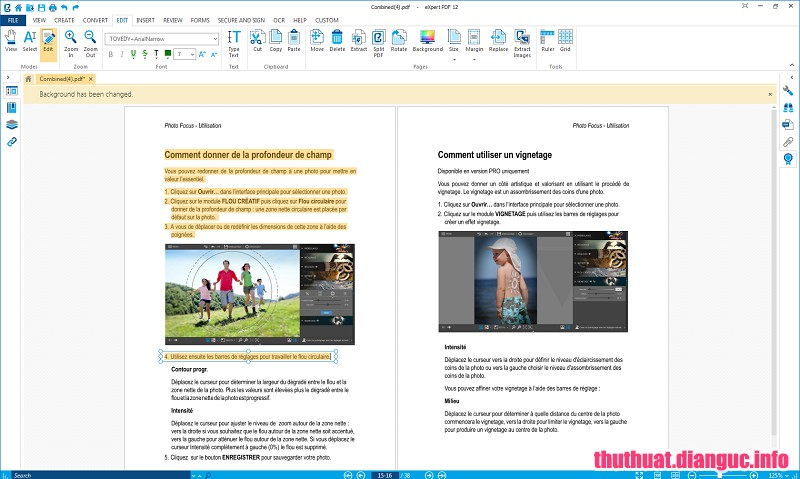 Download eXpert PDF Ultimate 12.0.24.38721 - Phần mềm chỉnh sửa PDF tốt nhất