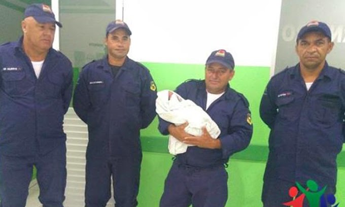Bebê abandonada na rua é resgatada pela Guarda Municipal de Caldeirão Grande