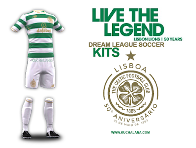 Celtic FC Kits 2017/18 Honor Lisbon Lions - Dream League Soccer 2017