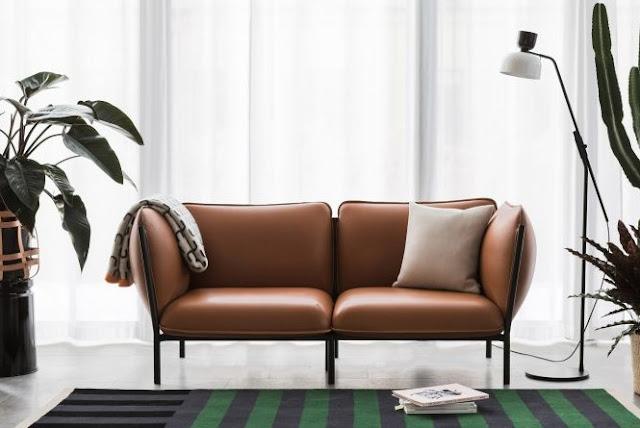 Mini Leather Sofa