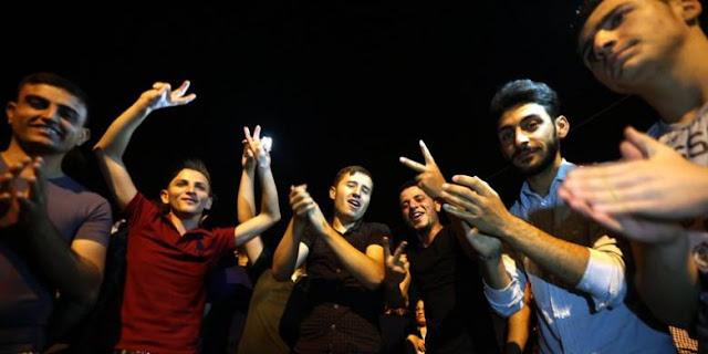 Warga Kristen Irak Bergembira Kotanya Dibebaskan dari ISIS
