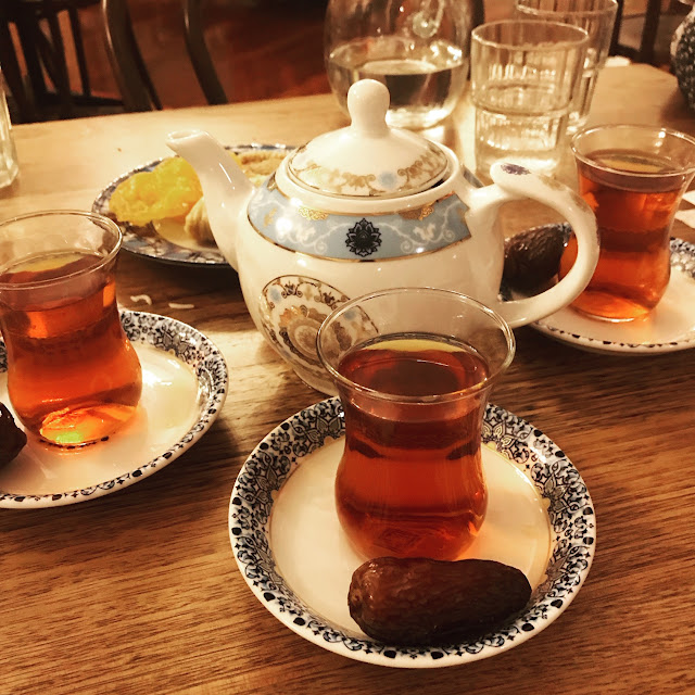 Ali Qapu, Kew East, Persian tea, medjool date