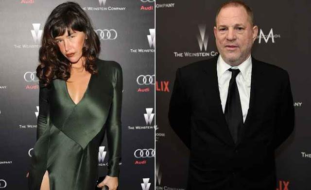 Actress Paz de la Huerta accuses Harvey Weinstein of raping her twice