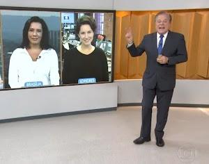 """Chico Pinheiro se confunde e anuncia """"MasterChef"""" na Globo"""