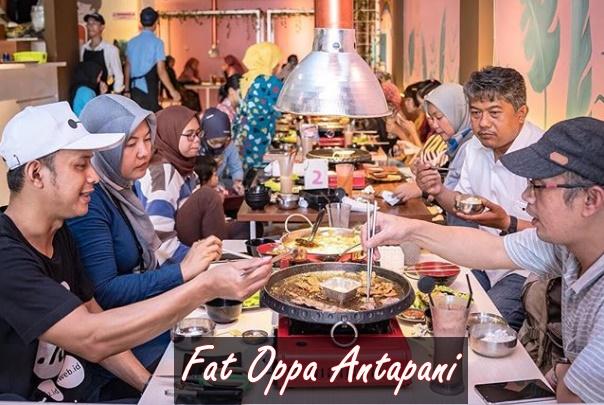 Fat Oppa Antapani, Restoran Korea Paling Kekinian di Bandung