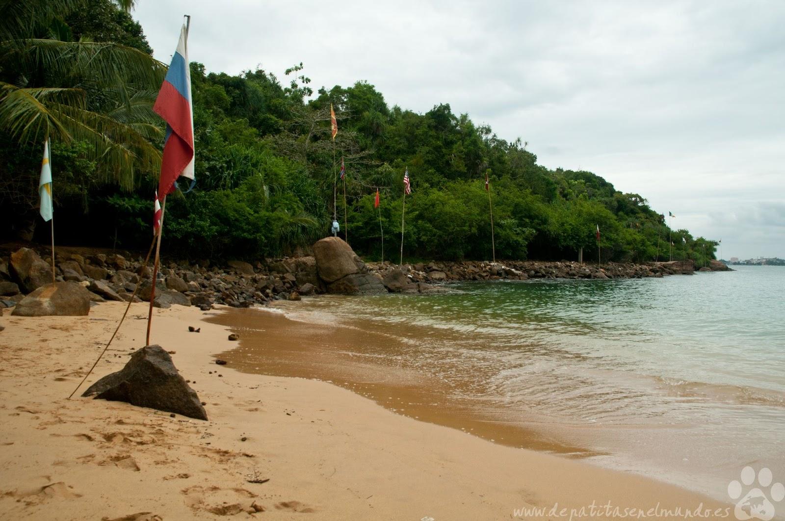 Jungle Beach en Sri Lanka