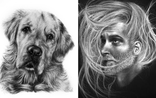 00-Krystan-Grace-Humans-and-Dogs-Charcoal-Portrait-Drawings-www-designstack-co