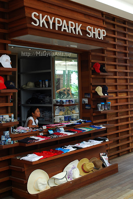 Souvenir Shop Sands Skypark Singapore