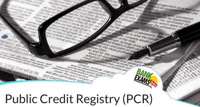 Public Credit Registry (PCR)