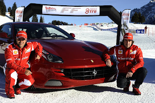 massa and alonso at madonna di campiglio