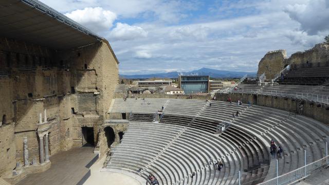 Vista superior del teatre