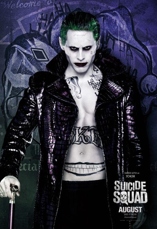 Joker Suicide Squad film poster