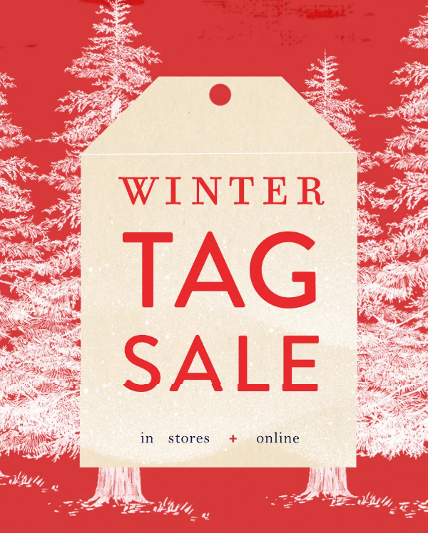 Picks from the Anthropologie 2018 Winter Tag Sale :: Effortlessly with Roxy