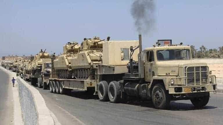 بركان-الغضب-الليبي-التابع-للوفاق-يتحدث-عن-أرتال-عسكرية-مصرية-ضحمة
