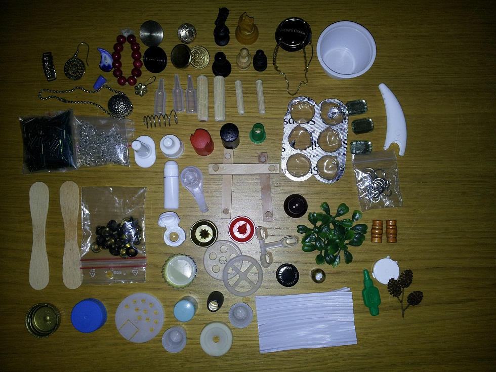 Dollhouse escapes: Recycling tips for miniature-makers