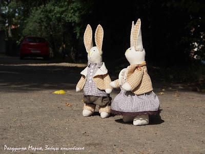 купить зайца ручная работа