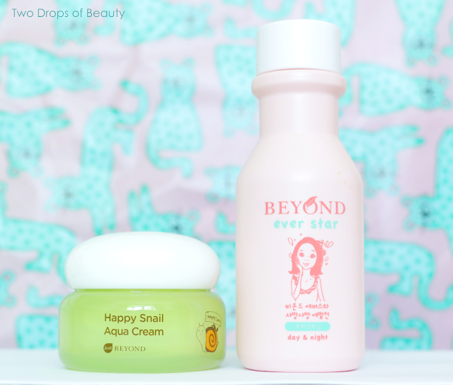 Beyond Ever star Shine Emulsion, Happy Snail Aqua Cream, крем для лица, эмульсия