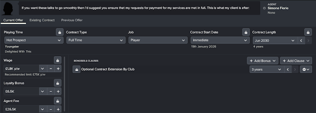 Optional Contract Extension by Club