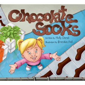 http://www.amazon.com/Chocolate-Socks-Holly-Durst/dp/1620200007