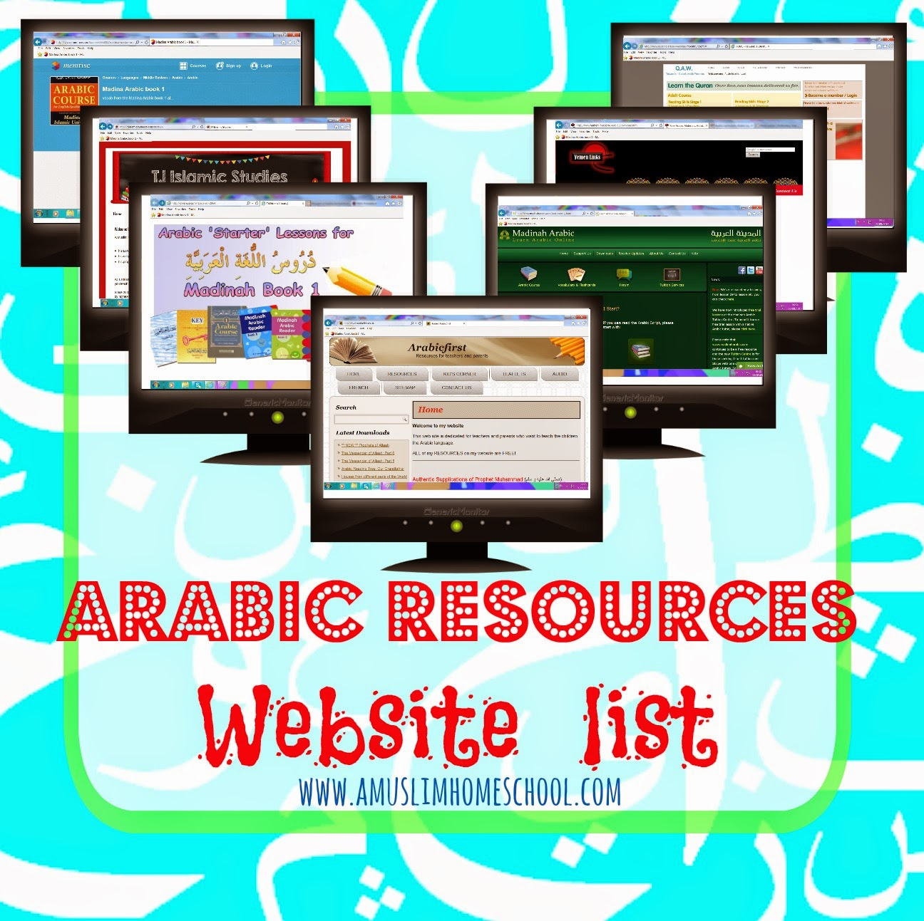 A Muslim Homeschool Learning Arabic A Few Online Resources To Check Out